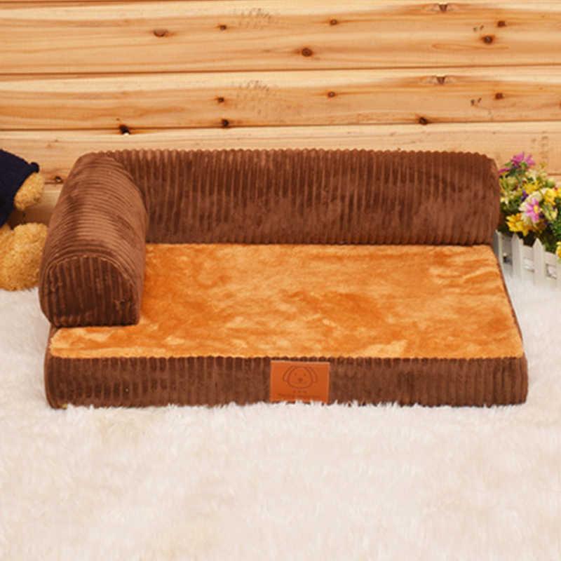 二国間枕犬ベッド中型犬マット大型犬のベッド高級ソファソファーベッド通気性手洗いリムーバブルカバー