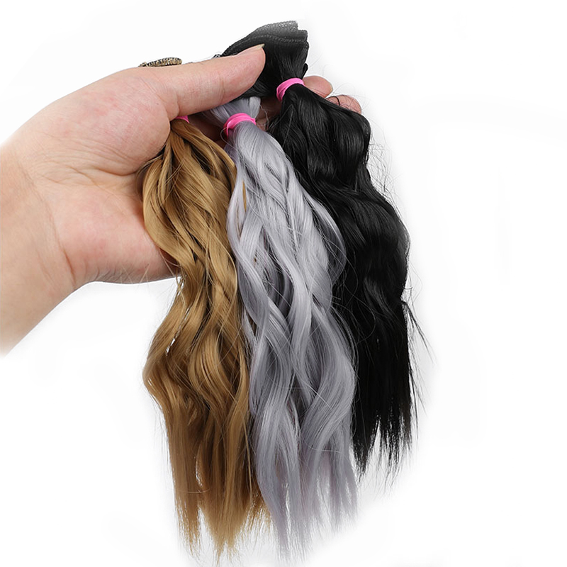 25CM*100CM DIY BJD Doll Hair Curly WIG For Dolls Synthetic Wig Free Shipping Hair For Dolls
