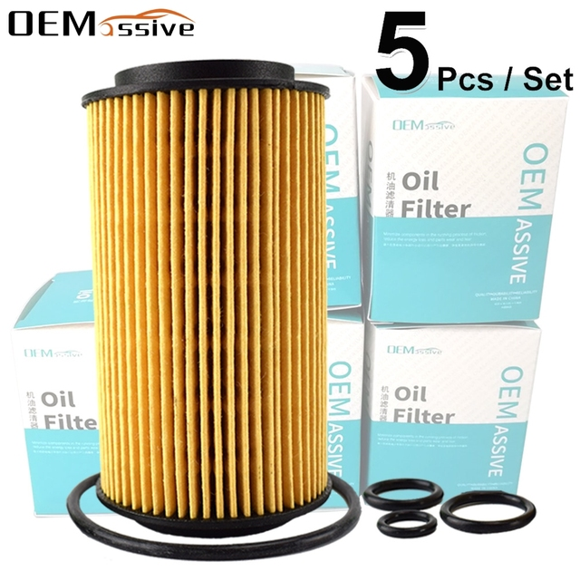 Set Di 5, filtro olio 6111800009 Per Jeep Mercedes Benz W204 CL203 S204 C209 W211 S211 W163 W639 Sprinter 5 t Box/bus (906)
