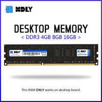 Desktop di Ram HDLY DDR3 4GB 8GB 1333 1600 1866MHz di Memoria Sul Desktop 240pin 1.5V New dimm di core PC cpu kit scheda madre AMD