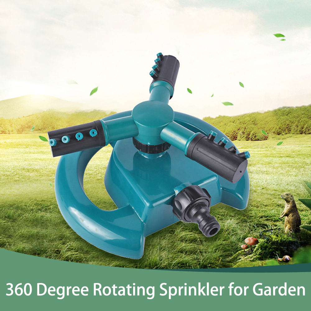 Automatic Flexible Sprayer Sprinkler Irrigation Lawn Watering System Garden