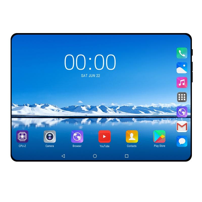 2020 nouveau véritable 10.1 pouces Android 9.0 tablette Octa core 6GB + 128GB 3G/4G LTE téléphone intelligent GPS WIFI Android 9 tablettes 10