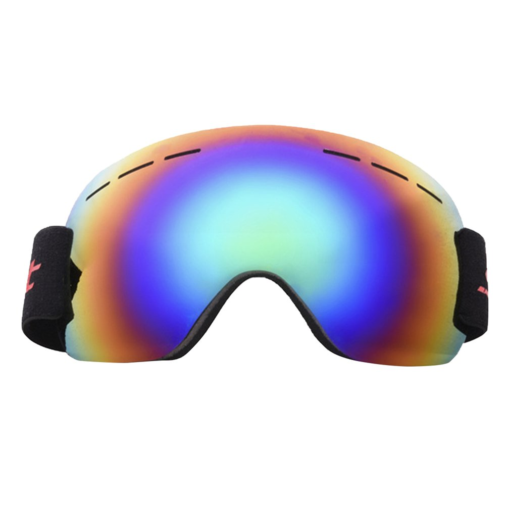 Ski Snowboard Snow Goggles Design For Men Women With Spherical Detachable Lens Uv Protection Anti-fog Goggles
