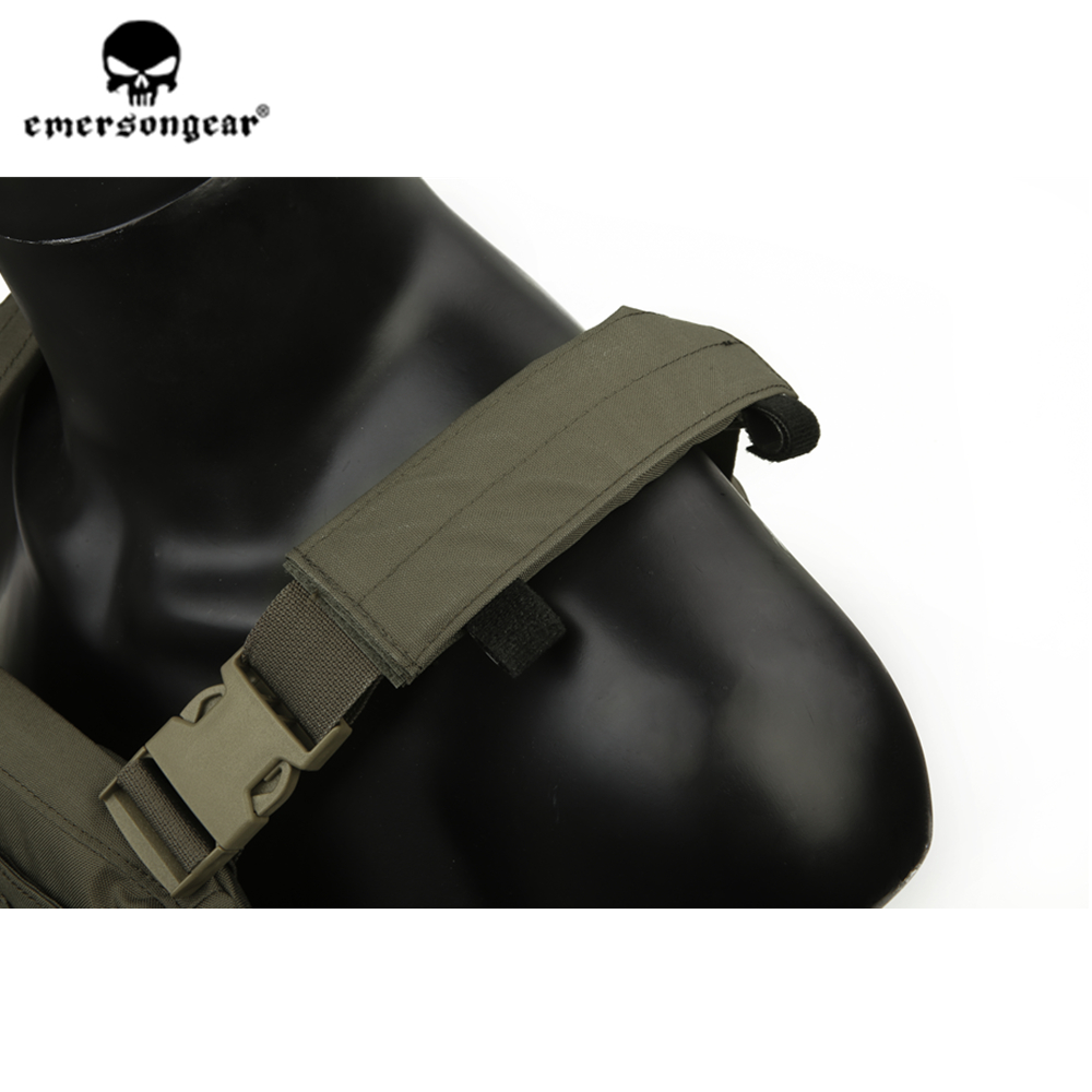 emersongear Emerson Ranger Green Plate Carrier CP style AVS Tactical Vest Lightweight Adjustable Body Armor CS Protective Gear - 5