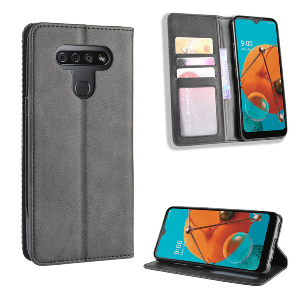 For Lg K51 Case Luxury Flip Pu Leather Wallet Magnetic Adsorption Case For Lg Q51 K 51 Q 51 Lgk51 Lgq51 Protective Phone Bags Wallet Cases Aliexpress