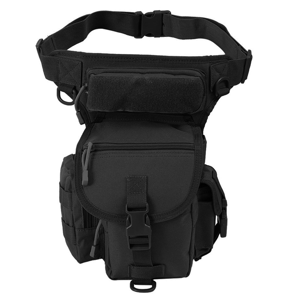 Outdoor Multifuntional Tactical Drop Leg Bags Swat Military Hunting Tool Waist Packs Sports Nylon Bag Camping Reporter Equipment