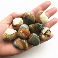 Cristais de quartzo para cura do oceano natural, 2 peças, cristais naturais de quartzo, para cura e reiki