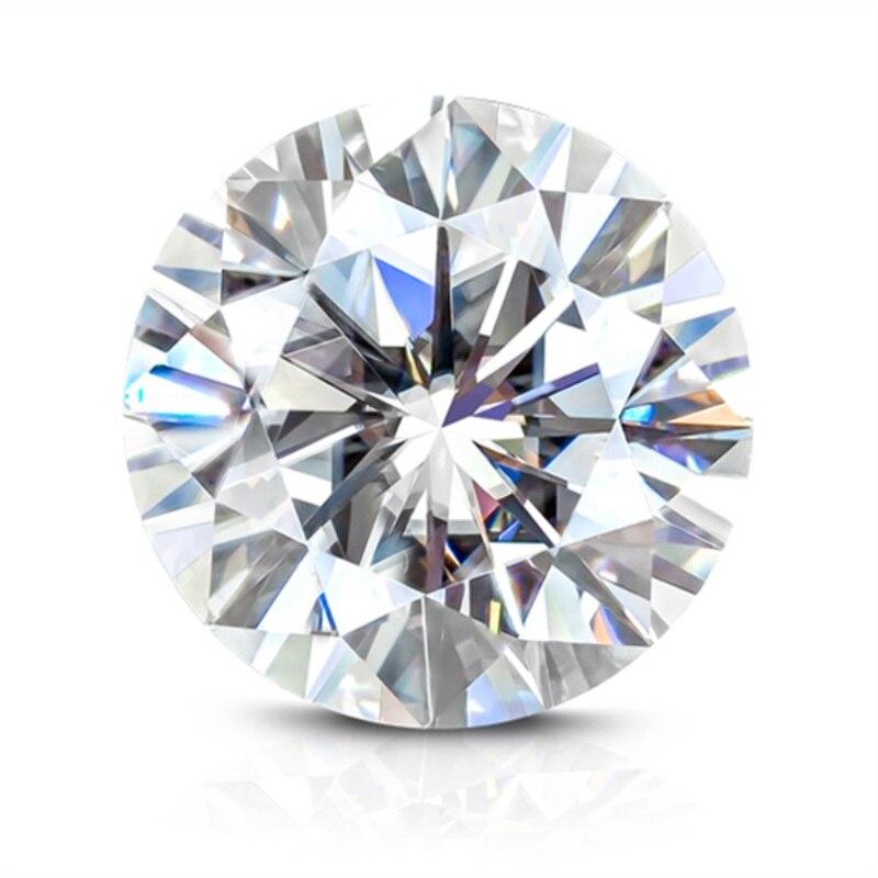 Test positif, y compris certificat offre spéciale remise GH couleur 9.5mm 3.5ct rond 3Ex coupe Moissanite diamant de laboratoire de pierres précieuses en vrac