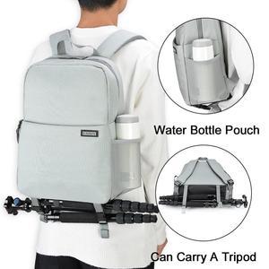 Image 5 - CADeN Dslr borsa per fotocamera zaino impermeabile spalla Laptop fotocamera digitale obiettivo fotografia borse per bagagli custodia per Canon Nikon Sony
