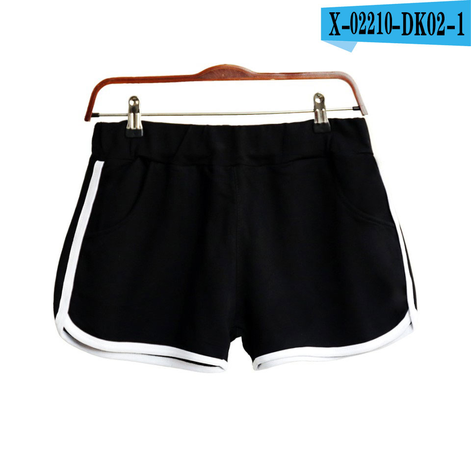 2019 New Style Women Ladies Casual Beach Summer Shorts100%Cotton Casual Loose Solid Shorts Plus Size XXS-4XL