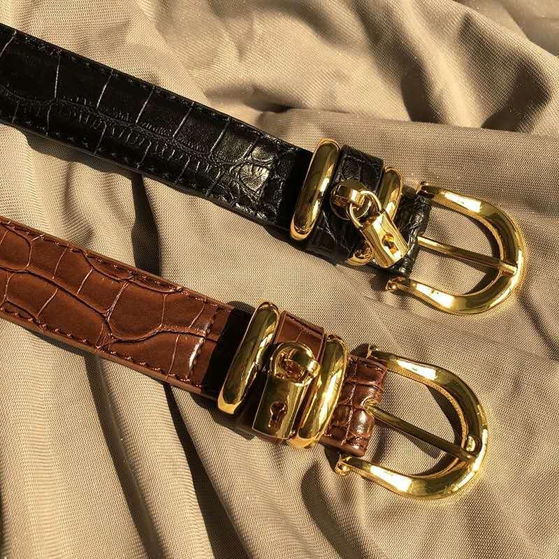 Women's Genuine Leather Belt New Fashion  Belt For Women High Quality Leather Belt For Girls Female Leather Belt Womens Belts