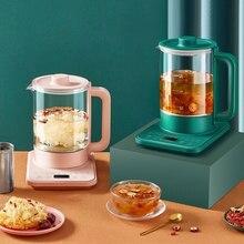 Uso doméstico chaleira elétrica aparelho de cozinha aquecedor água fervente chaleira flor chá mingau fogão alimentos professor frete grátis