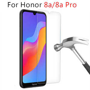 protective glass for honor 8a pro 8c 8x 8s tempered glass screen protector on for huawei honor8a 8 a a8 8pro honer safety film(China)