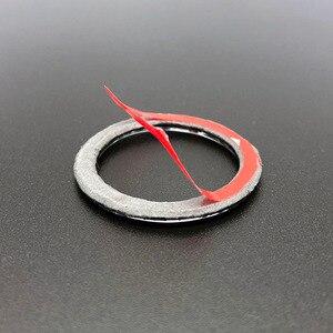 Кнопка запуска и остановки двигателя автомобиля, декоративное кольцо, отделка автомобилей, автомобильные аксессуары, Стайлинг для BMW 1/3/5 серии E87 E90 E60 320