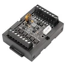 وحدة تحكم منطقية قابلة للبرمجة PLC الصناعية لوحة تحكم FX1N 14MT DC10 28V 8000 الخطوات مع قذيفة