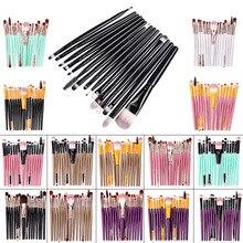 Makeup Brushes Set 15Pcs Eye Shadow Foundation Blush Brush P