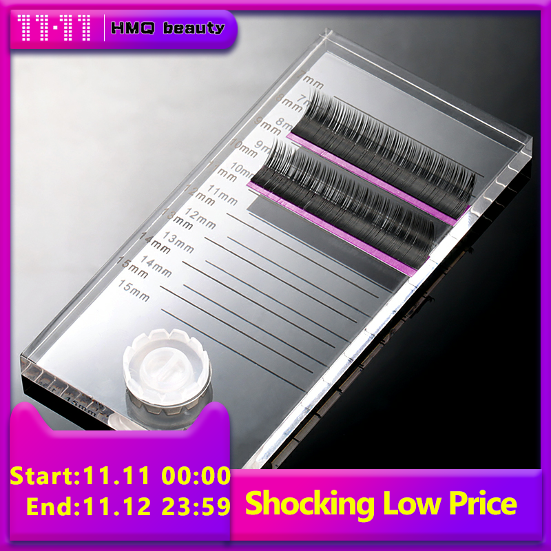 New 2 In 1 Acrylic False Eyelashes Stand Pad Pallet Lashes Holder With Tick Mark Fake Lashes Extension Essential Tool