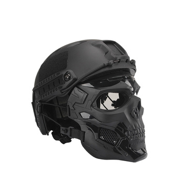 Bulletproof Helmet Bullet Proof Skull Mask  Lightweight Military Tactical Bulletproof Helmet Tactical Painball Riding 1