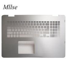 Frete grátis original novo palmrest caso para inspiron 17 7000 2-em-1 7778 teclado capa 0d14ph