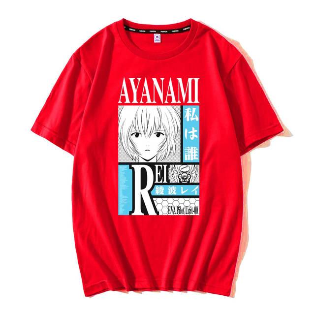 REI AYANAMI THEMED T-SHIRT (10 VARIAN)