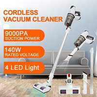 2 IN 1 9000PA 140W cordless vacuum cleaner Washable Vacuum Handheld Stick Bagless Cleaner Carpet Dust Collector for Home Car