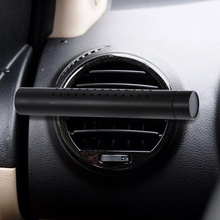 Car Aromatherapy Stick Fragrance Diffuser Car Air Vent Freshener Perfume Essential Oil Diffuser Silicone Vent Clip with 1 Replac