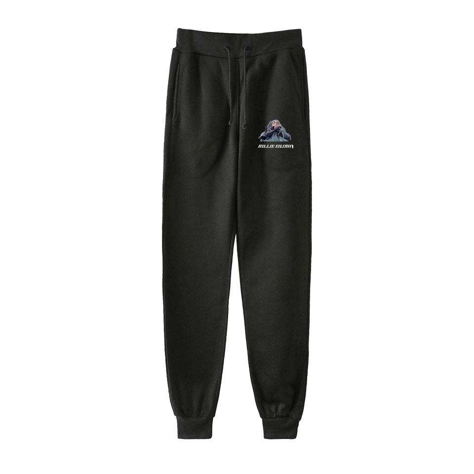 Billie Eilish Super Star Girl New Pants  High Quality Jogging Sports Pants Trousers Fashion Comfortable Casual Pants