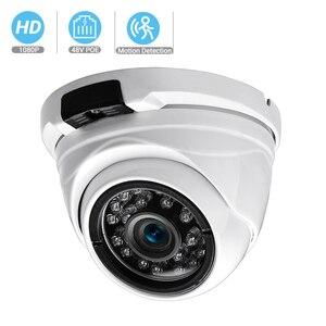 Image 1 - BESDER Wide Angle 2.8mm 720P 960P 1080P PoE CCTV Dome Camera  Indoor Outdoor Vandalproof ONVIF Infrared Metal Case IP camera