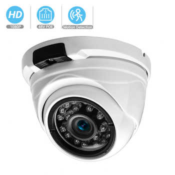 BESDER Wide Angle 2.8mm 720P 960P 1080P PoE CCTV Dome Camera  Indoor Outdoor Vandalproof ONVIF Infrared Metal Case IP camera - DISCOUNT ITEM  32% OFF All Category