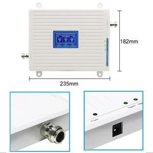 Image 2 - GSM DCS WCDMA 900 + 1800 + 2100 Trí Ban Nhạc Di Động Tăng Cường Tín Hiệu 2G 3G 4G LTE tế Bào Repeater GSM 3G 4G Điện Thoại Booster