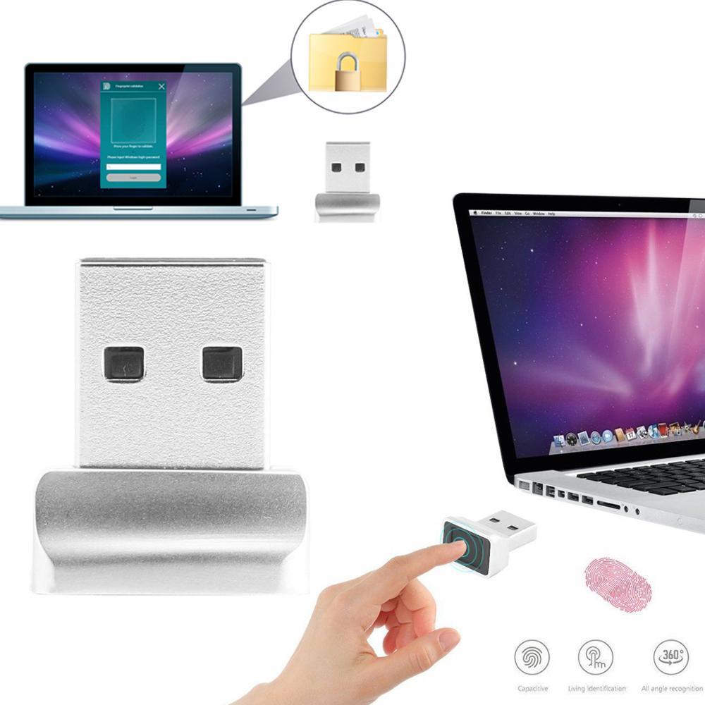 1Pc USB Fingerprint Reader For Windows Security Key Biometric Fingerprint Scanner Sensor Module For Instant Touch Easy To Use