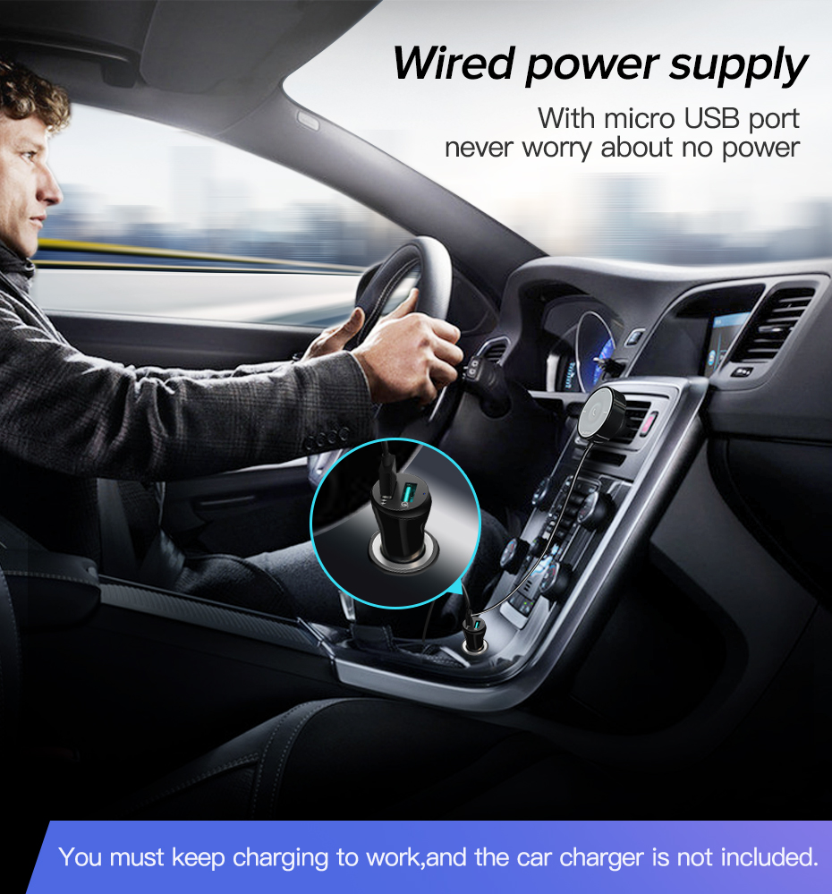 Ugreen bluetooth 5.0 kit de carro aptx