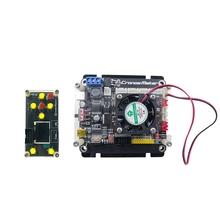 GRBL 1 1 płyta sterowania sterownik 3 osi silnik krokowy z wentylatorem podwójne Y osi dysk USB płyta dla grawer CNC tanie tanio CN (pochodzenie) NONE ELECTRICAL Metal plastic black