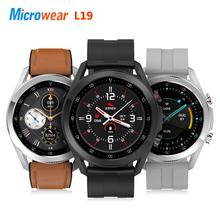 2021 nowy Microwear L19 inteligentny zegarek Bluetooth zadzwoń wodoodporny ekg ciśnienie krwi pulsometr sportowy VS Smartwatch L15 L16 tanie tanio CN (pochodzenie) Android Wear Android OS Na nadgarstku Wszystko kompatybilny 128 MB Passometer Fitness tracker Uśpienia tracker