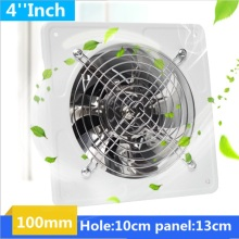 4 Inch 20w 220v Ventilator Extractor Exhaust Fans High Speed Boost Fan Toilet Kitchen Bathroom Hanging Wall Window Glass