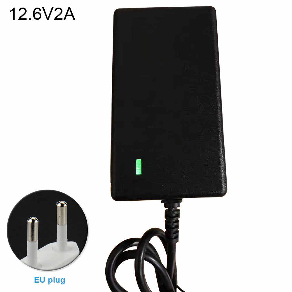 8.4-42V 1A 2A Pin Sạc Điện Lý-Pin Li-Ion EU/MỸ Cắm Đa Năng Thiết Thực có Đèn báo Điện