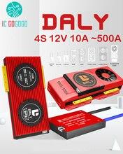 DALY – carte de Protection pour batterie Lithium Lifepo4, modèle 4s 12V, BMS 15a 20a 30a 50a 60a 80a 100a 200a 250a 3.2 a