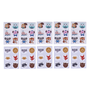 60pcs Mosquito Patch Square Cartoon Anti-Mosquito Repellent Stickers For Children Toddler Infant Kids