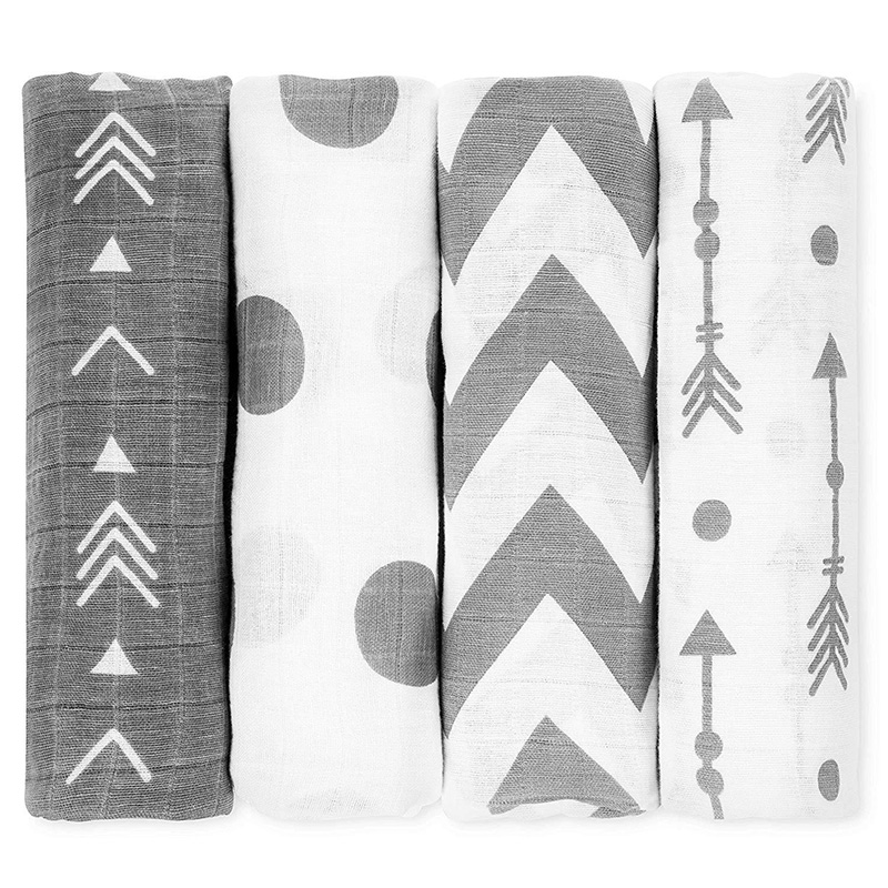 Muslin Blanket 100% Cotton Soft Newborn Baby Blankets Bath Gauze Infant Wrap Sleepsack Swaddles Stroller Cover Kids Bed Sheet