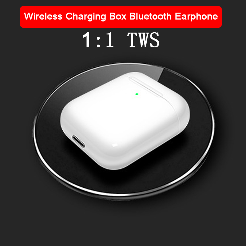 6D DIY Name Wireless Charging Dock Headsets TWS 1:1 <font><b>airpoder</b></font> 3 <font><b>Pop</b></font> <font><b>up</b></font> Transparency Noise Reduction Bluetooth Earphone for iphone image