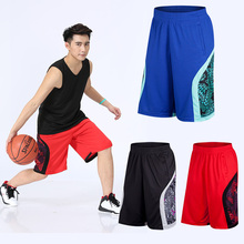New Fashion Men Sporting Basketball Shorts Soccer Bodybuilding Sweatpants Fitness Short Jogger Casual Gyms