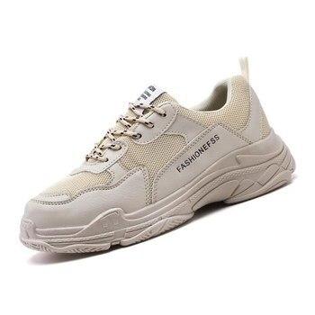2020 primavera nuevo caliente pequeño blanco marea zapatos salvaje exterior aumento de malla transpirable cómodo resistente al desgaste de los hombres zapatos deportivos