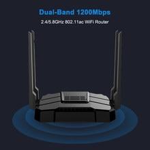 ZBT – routeur wi-fi Gigabit WG106, 2.4GHz/5.8GHz, 1200 Mbps, avec Micro slot TF, Cpu MT7621, pour usage domestique, Firmware en anglais