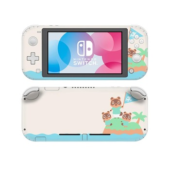 Vinyl Screen Skin Animal Crossing Protector Stickers for Nintendo Switch Lite NS Console Nintend Switch Lite Skins Stickers vinyl screen skin sticker laurel dog skins protector stickers for nintendo switch ns console controller stand sticker