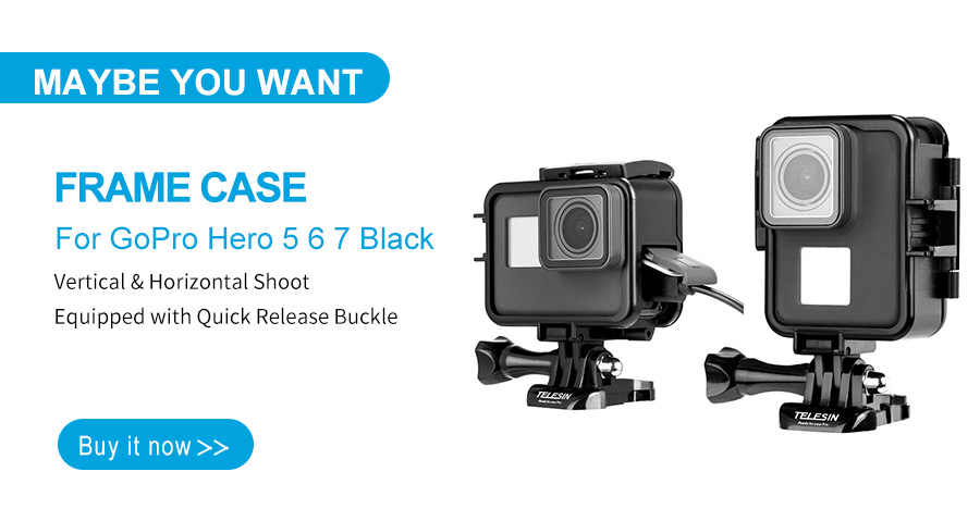 GoPro HERO 5-Ring color Frame Protector Cover Accessori individual YELLOW