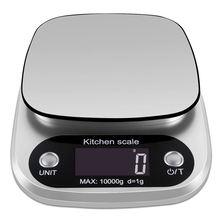 10 кг/5 кг/3 кг/1 г lcd электронные кухонные весы бытовой баланс
