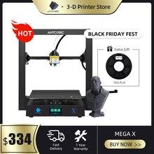 ANYCUBIC Mega X Serie Mega 300*300*305 millimetri Stampante 3D di Grandi Dimensioni Più Il Formato di Stampa di Potenza Meanwell fornitura Ultrabase impresora 3d