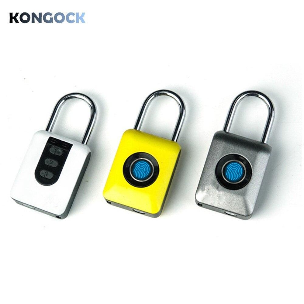 Cadenas biométrique d'empreintes digitales TSA, mot de passe numérique serrure intelligente sans clé pour porte de maison, clôture, sac à dos, valise, bureau, vélo