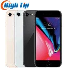Apple – authentique smartphone IPhone 8 de 64 ou 256 go, téléphone portable, 2 go de RAM, processeur hexa-core 3D, identification tactile, 4G, LTE, WIFI, appareil photo de 12 mpx, écran de 4.7 pouces, lecteur d'empreinte digitale