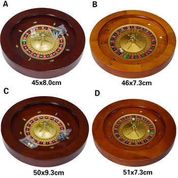 Holz Roulette Rad Bingo Spiel Spielzeug Spielen Bord Unterhaltung Party Game Set Für Bar Ferien